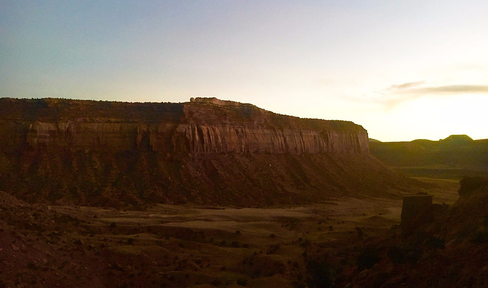 View from Selfish Wall, Indian Creek, Bears Ears National Monument.