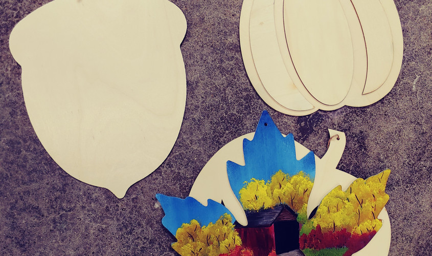 "12"" Fall Cutouts"