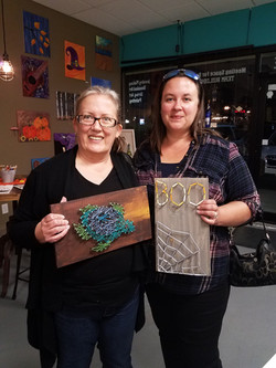 String Art and smiles