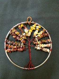 beaded tree of life autumn