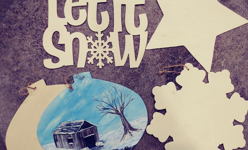 "12"" Winter Cutouts"