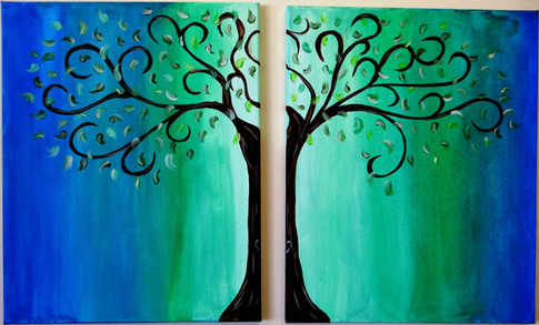 Couples Summer Tree
