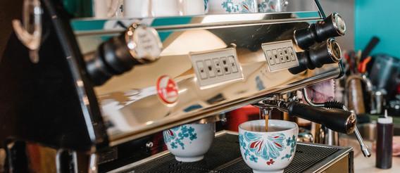 """""""Poppy"""" - Our espresso machine"""