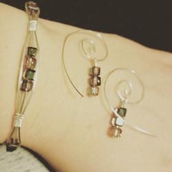 Wire wrapped jewelry