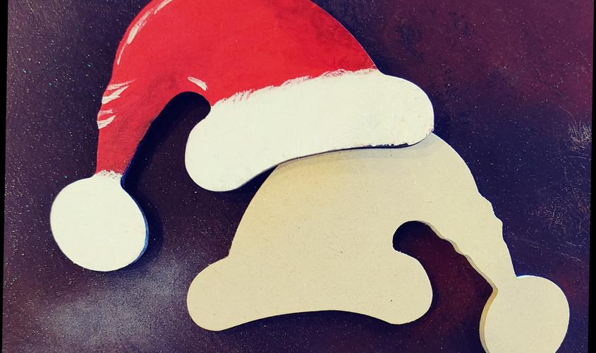 """6"""" Santa Hat"""