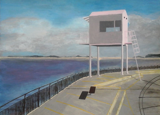 Watching over Cardiff Bay - Emilie Malleret