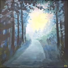 Lumière au bout de la route  - Pierre Hédrich