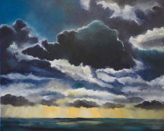 Ciel n° 18  - Paul Barbier - Oeuvre empruntée