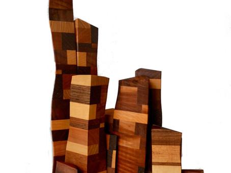 Les sculptures de Lucien Bénière viennent enrichir le fonds de l'artothèque.