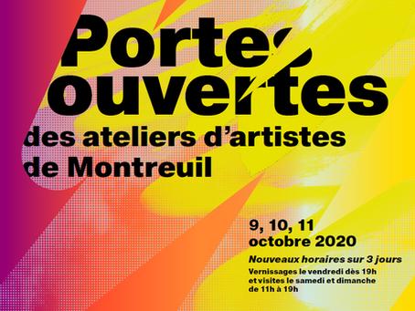 Du 9 au 11 octobre : Portes ouvertes des Ateliers d'Artistes de Montreuil.