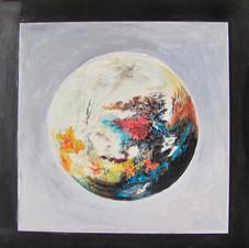 Planète colorée - Renée Roussillon