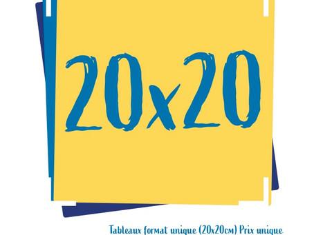 Retour sur l' expo 20x20 en photos