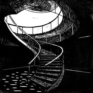L'escalier, Musée des arts asiatiques de Nice  - Valentine Vilemot