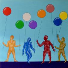Ballons - Maryline Lefebvre
