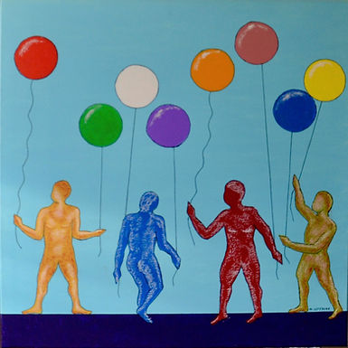 Ballons - Maryline Lefebvre