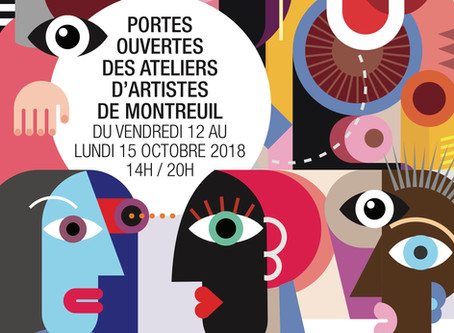 Portes ouvertes des Ateliers d'Artistes de Montreuil.