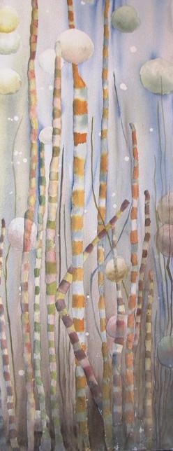 Algues - Éliane Robin - Oeuvre empruntée