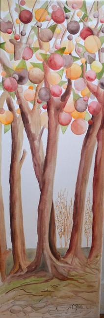 Les arbres d'abondance - Éliane Robin - Oeuvre empruntée