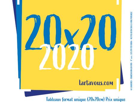 24 et 25 Octobre : EXPO 20x20 2020