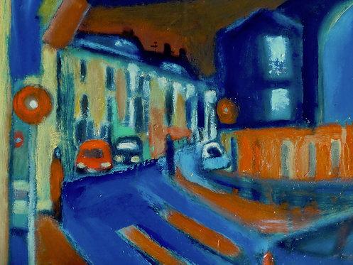 Rue de Romainville à Montreuil