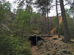 Ausgang der Grube