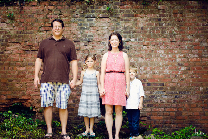 portraits: family session, roswell, ga