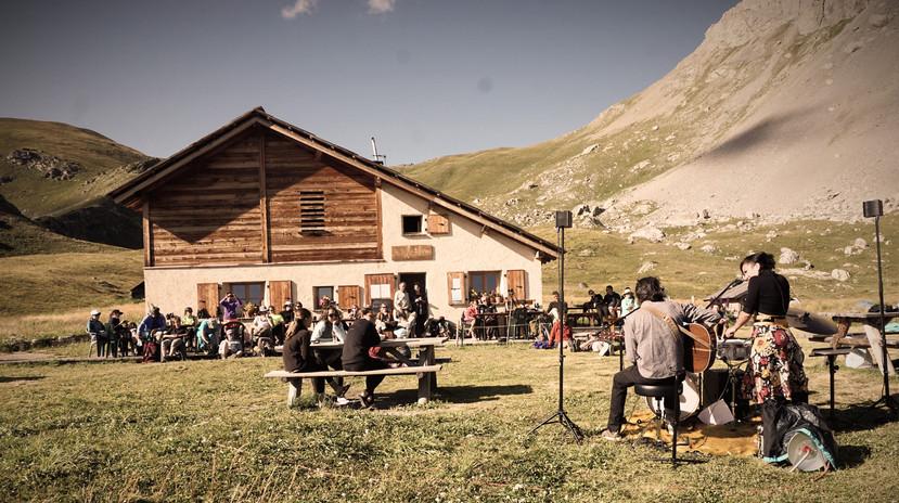 Concert en Refuge par le Son des Bestioles (Eté 2020, Période sans restrictions sanitaires Hiha!:)