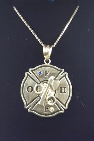 OFHF Pendant with Chain