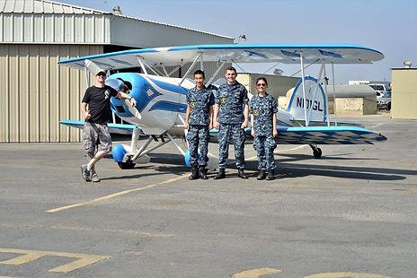 aerobatic biplane