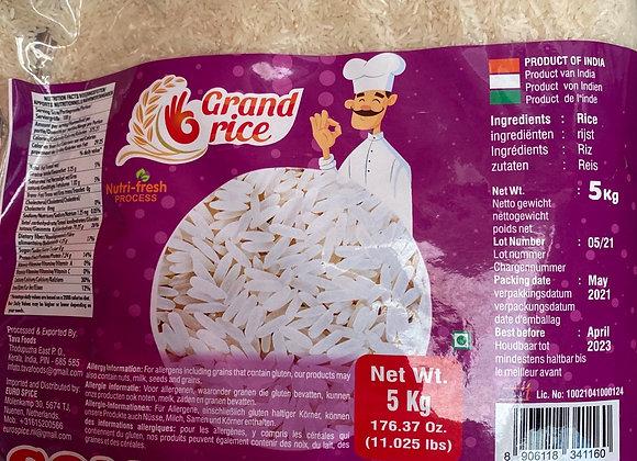 Grand Foods Sona Masoori Rice 5 Kg