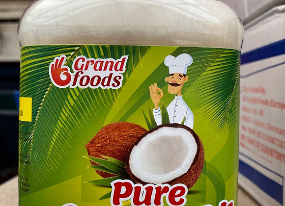 Grand Foods  Pure Coconut Oil 1 Kg