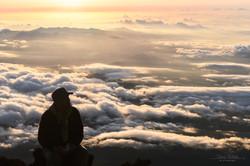 富士山山頂②