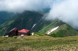 谷川岳 肩の小屋
