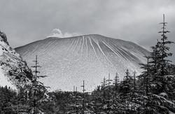 高峰高原~黒斑山 登山道より