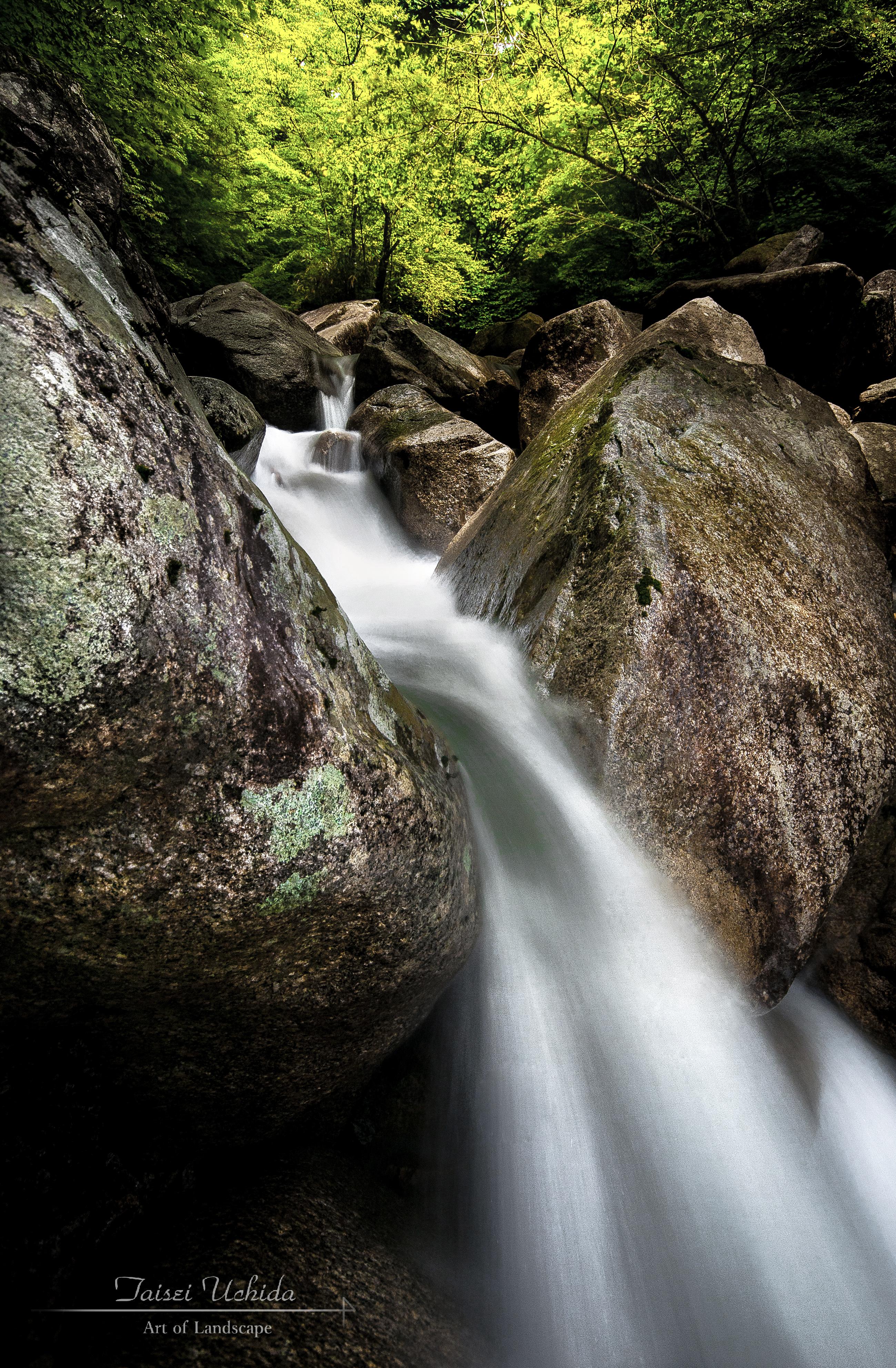 田立の滝 下流(無名)
