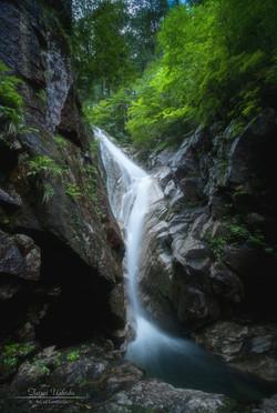 田立の滝 螺旋の滝
