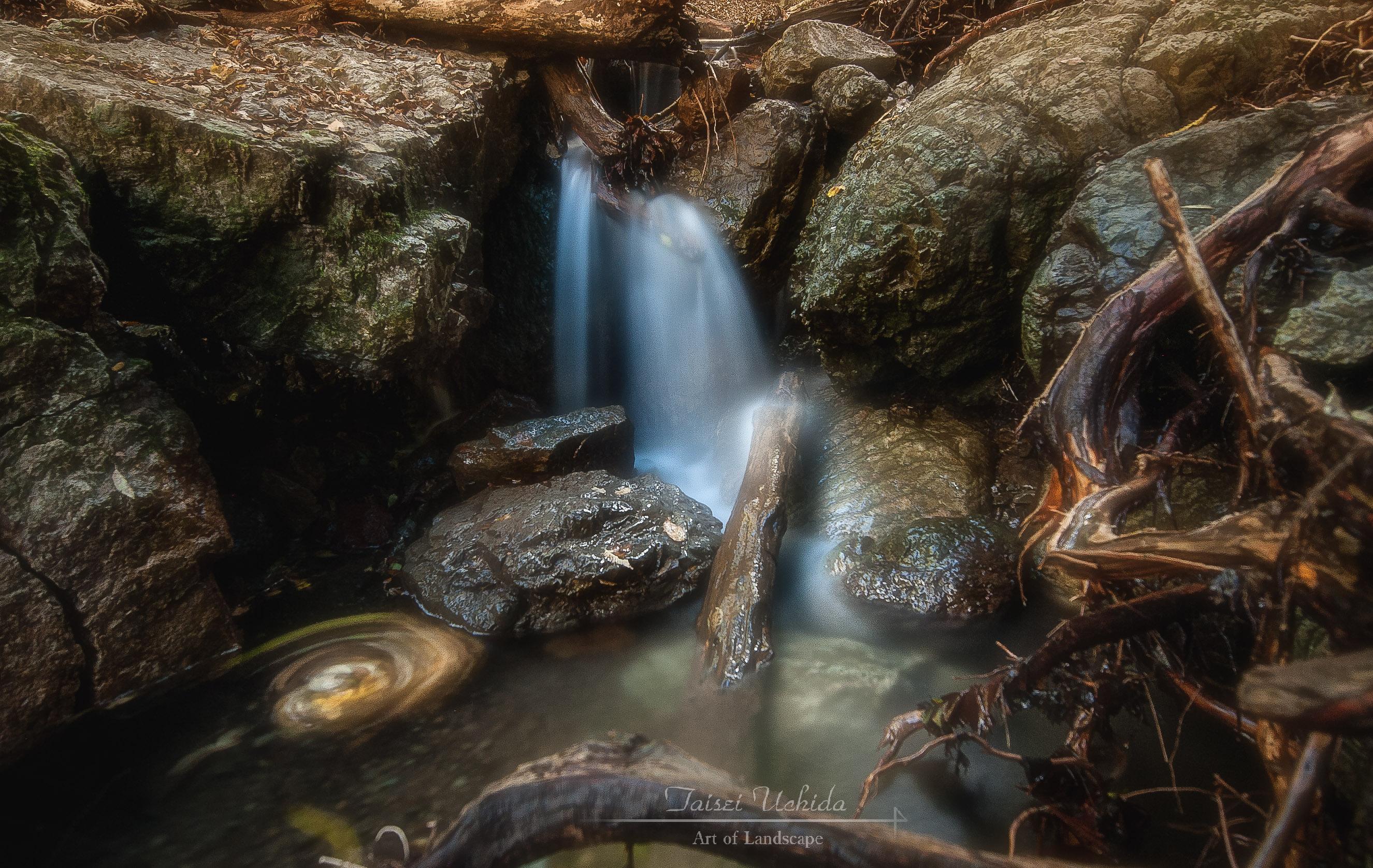 三段の滝 下流