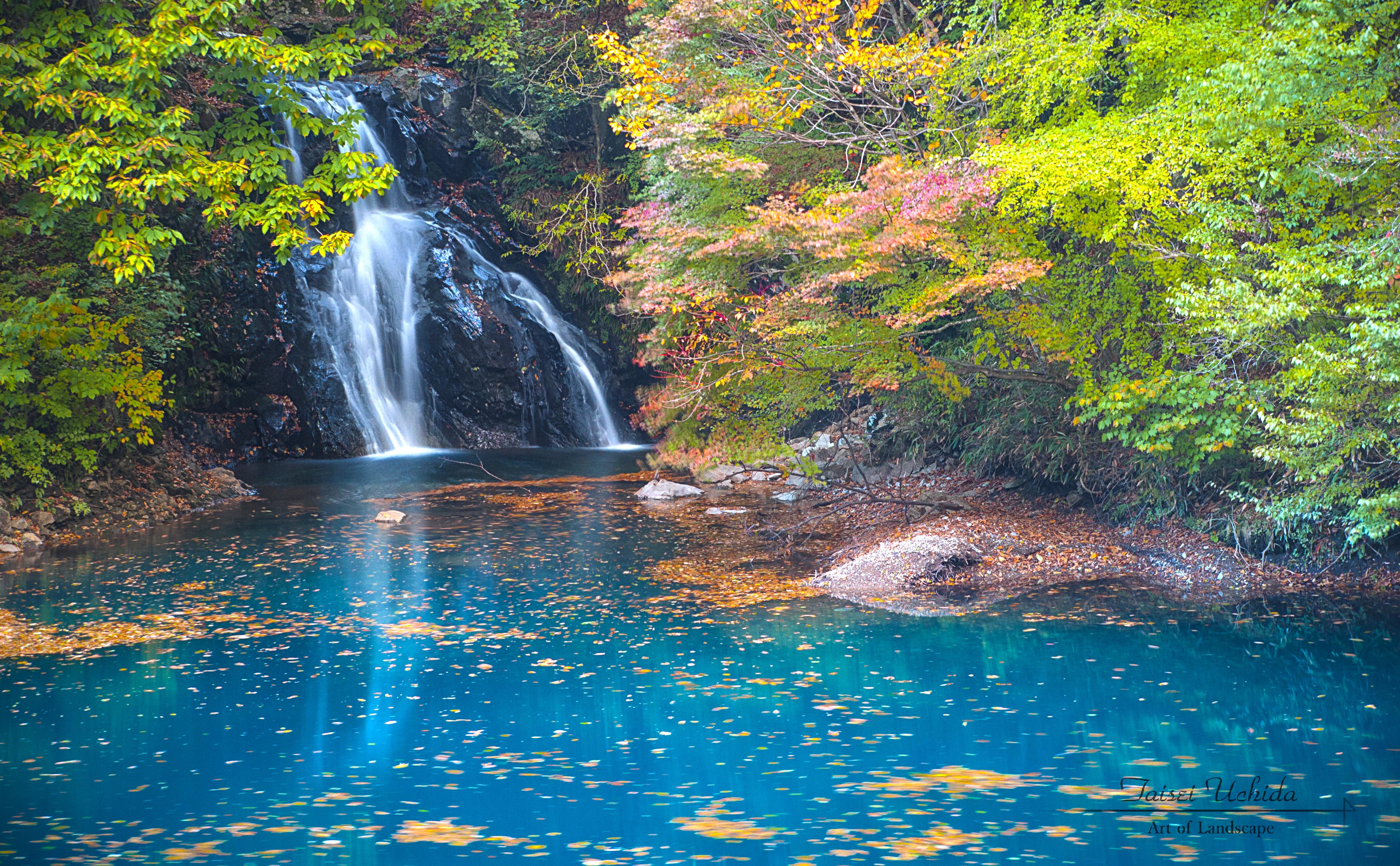 桃太郎の滝