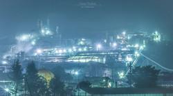 東邦亜鉛工場夜景