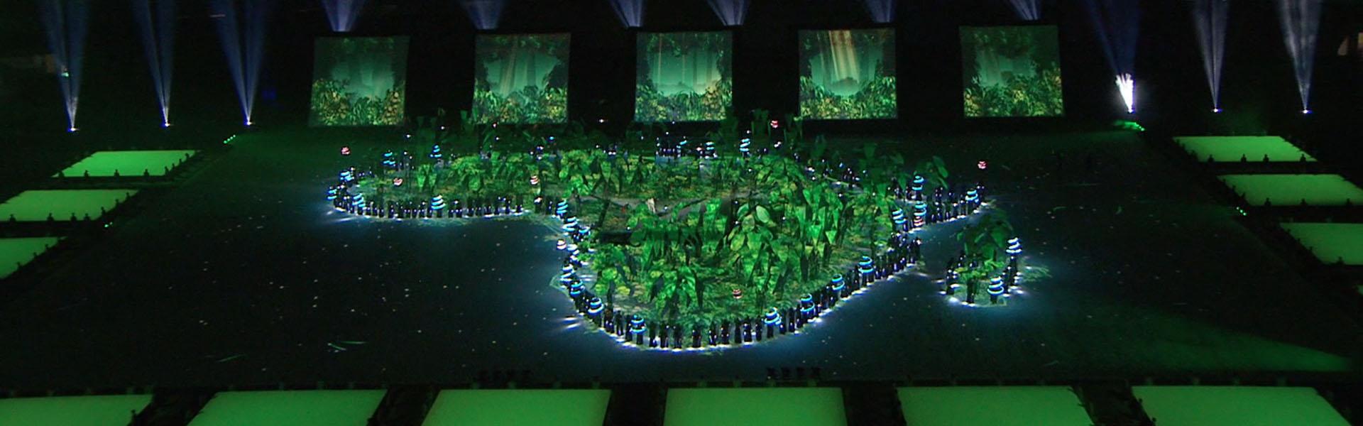 Cérémonie Jeux Africains 2015
