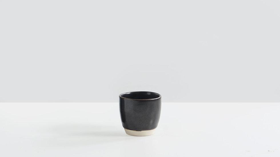 Black Glaze Chinese Tea Cup
