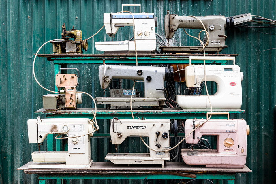 Sewing Machines - Print