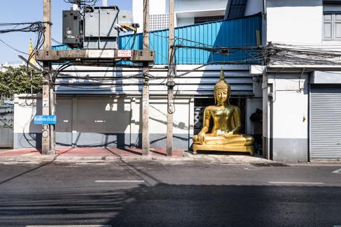 Gold Buddha - Print