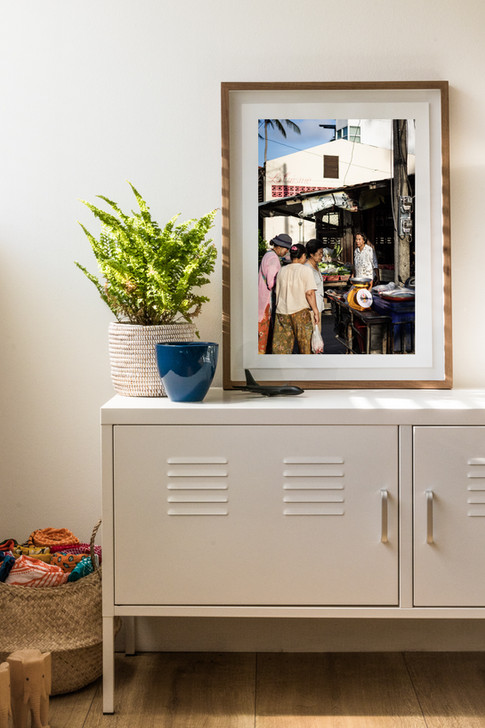 La Cuisine - Framed