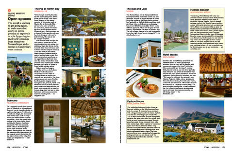 Monocle Travel Briefing