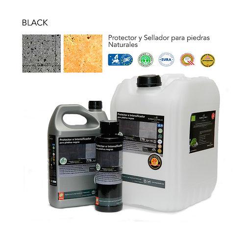 BLACK SATINADO Sellador para recintos color negro (20 lts).