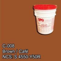 SPG® Color Endurecedor Café