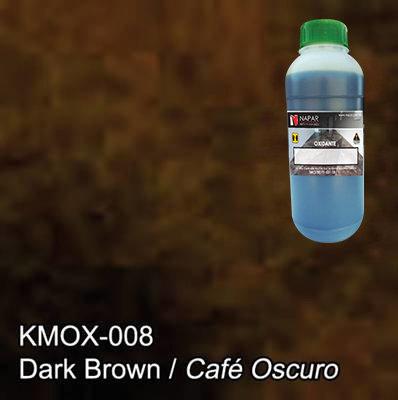 Oxidante para Concreto Ebano (Cafe Oscuro) (Lt).