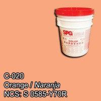 SPG® Color Endurecedor Naranja