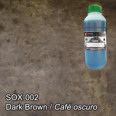 SPG® Oxidante para concreto Café oscuro (LT).